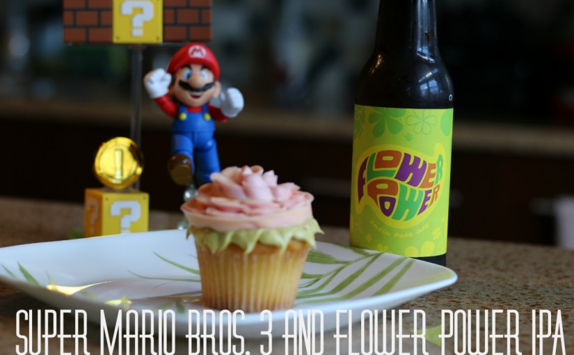 Super Mario Bros. 3 and Flower Power IPA from Ithaca Beer Company