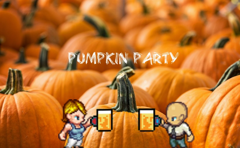 pumpkin party slider