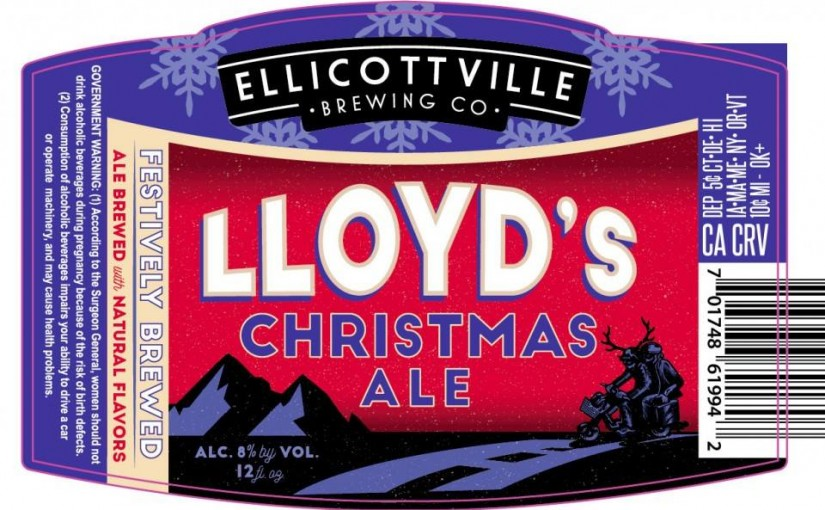 Brewelist Advent Calendar Day 24: Ellicottville Brewing Co.'s Lloyds Christmas Ale