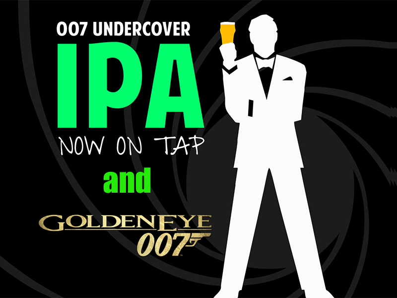Goldeneye and 007 IPA