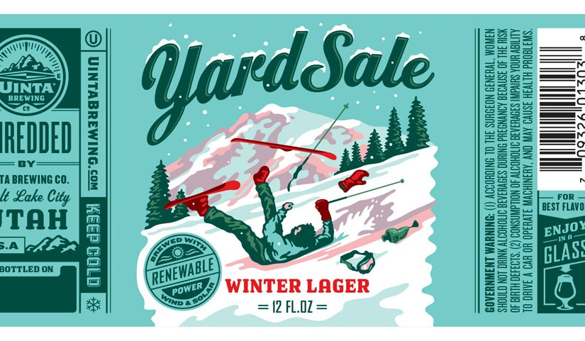 Brewelist Advent Calendar Day 15: Uinta Yard Sale Winter Lager