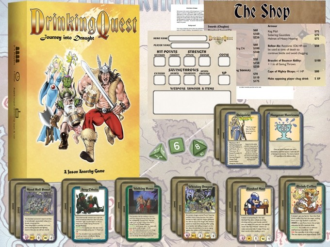 Drinking Quest: Journey into Draught Brings the Party Back to Kickstarter