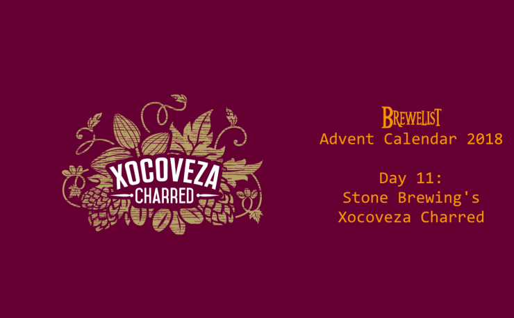 Stone Brewing's Xocoveza Charred is our day 11 pick for a beer you must try.